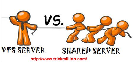 VPS Hosting Vs Shared Hosting Comparison