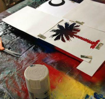 Cara Membuat Hiasan Lukisan dengan Kayu Pallet