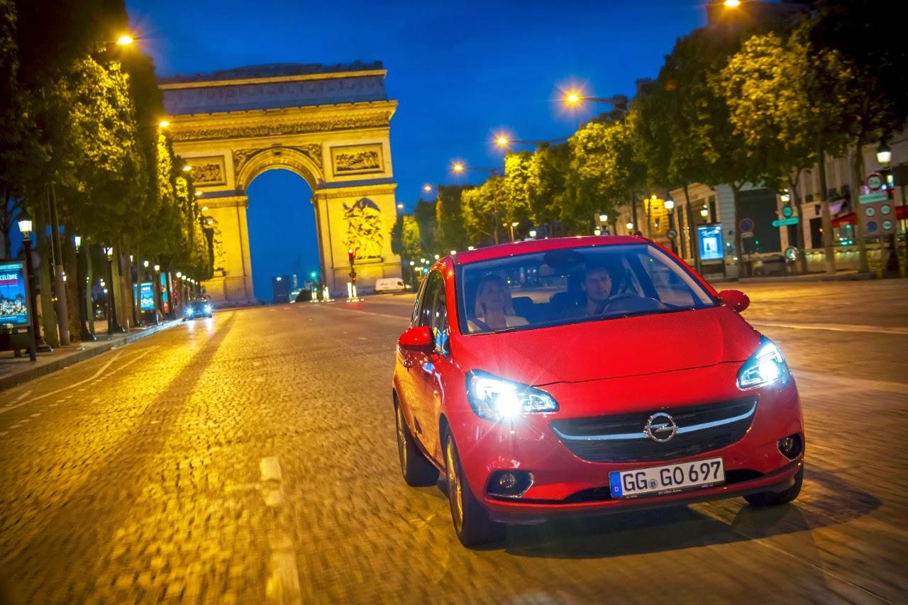 Παγκόσμια πρεμιέρα του νέου Opel Corsa στο Παρίσι - Υπερσύγχρονοι, οικονομικοί, ισχυροί κινητήρες και κιβώτια χαμηλών τριβών