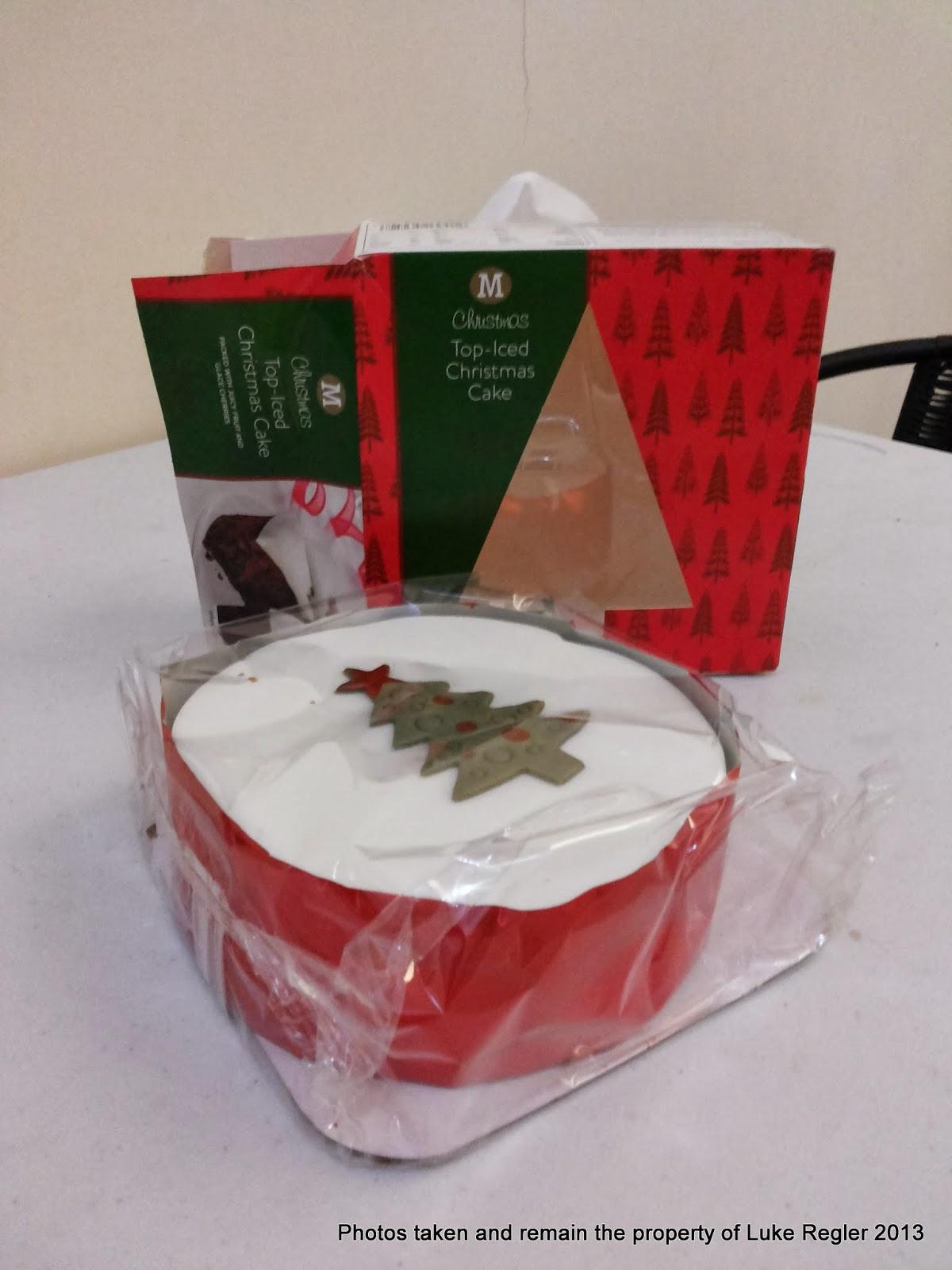 Morrisons Cake Decorations Christmas