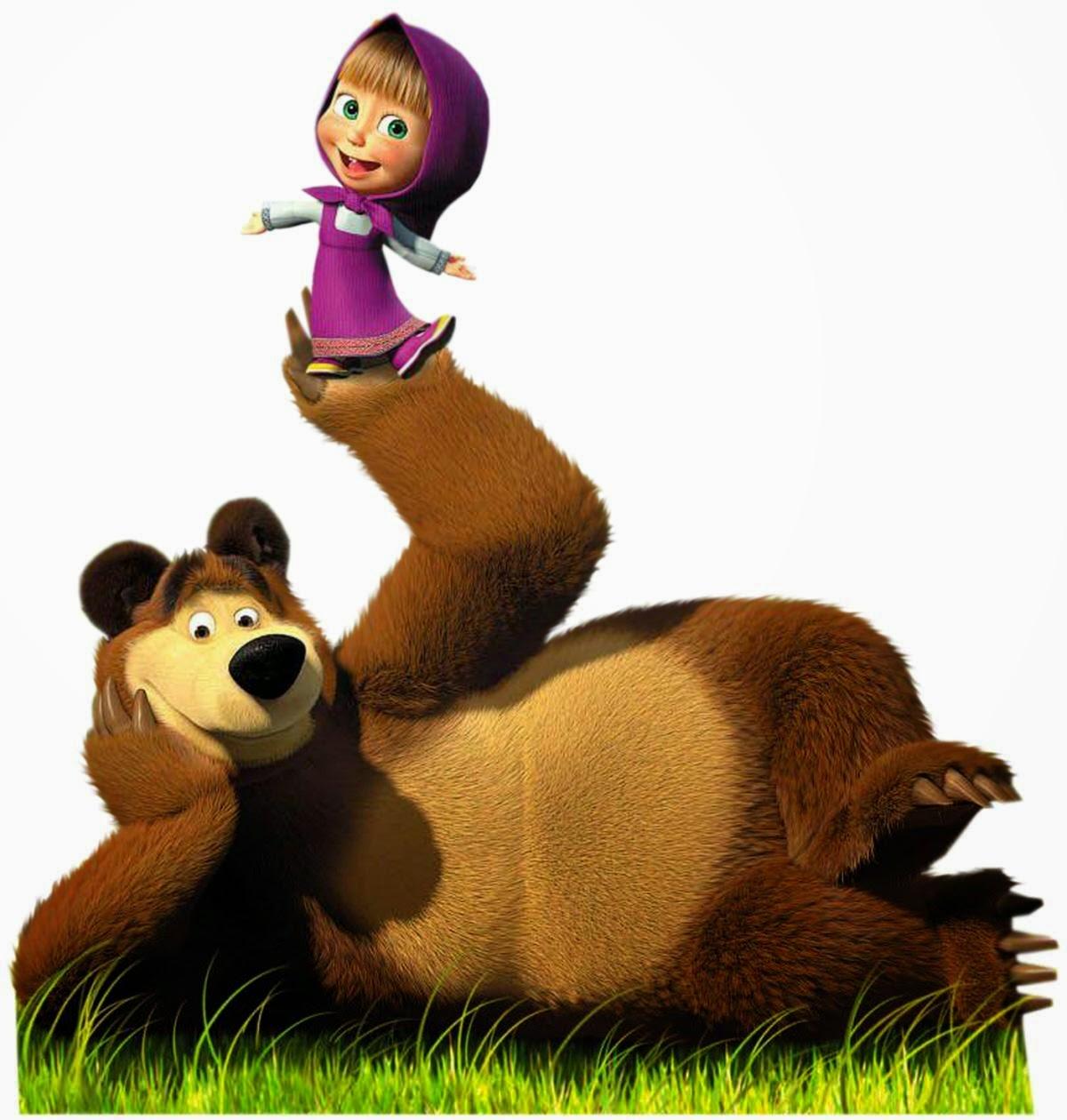 Gambar Lucu Kartun Masha And The Bear