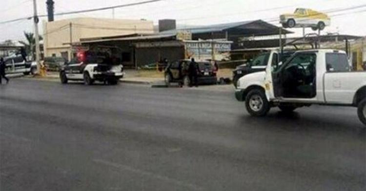 Ataque a policías en Reynosa deja cinco muertos; un agente y un civil, entre las víctimas