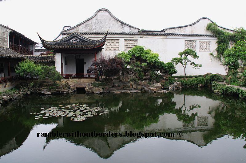Suzhou classical Chinese garden, China