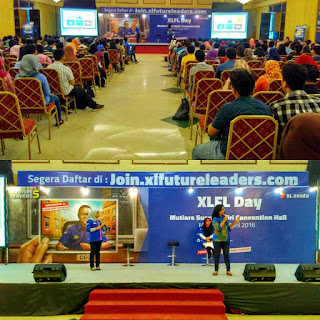 Roadshow XL Future Leaders Day di Medan