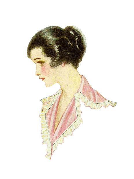 Fashion Vintage Women Clip Art