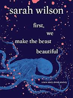Book cover image of first we make the beast beautiful