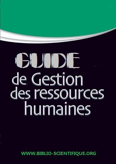 Livre : GUIDE DE GESTION DES RESSOURCES HUMAINES PDF