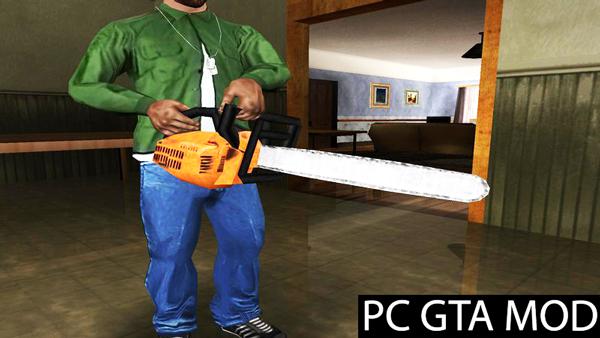 Free Download  Enhanced Original Weapons  Mod for GTA San Andreas.