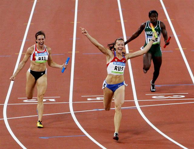 A russa Yulia Tchermochanskaya foi pega no exame antidoping em razão de uma nova análise envolvendo os Jogos Olímpicos de Pequim-2008