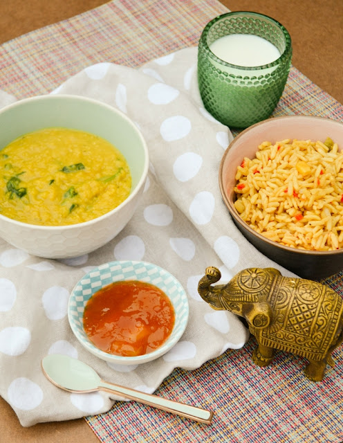 Easy Spinach and Coconut Dal