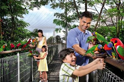 wisata keluarga singapore
