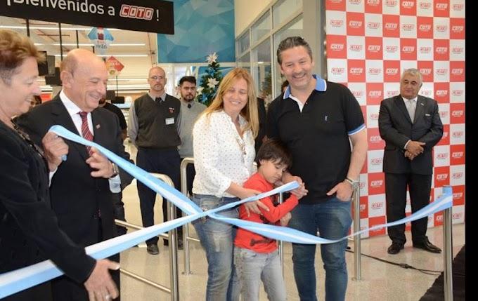 COTO inauguro un nuevo centro comercial en Padua