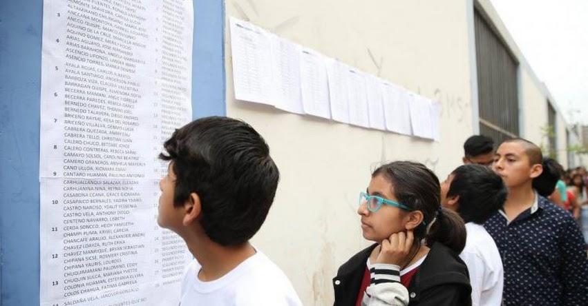 COAR 2017: Resultados Examen de Admisión a Colegios de Alto Rendimiento Primera Fase se publicará el Miércoles 15 Febrero - MINEDU - www.minedu.gob.pe