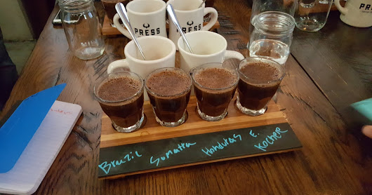 Developing My Palate with Press Coffee