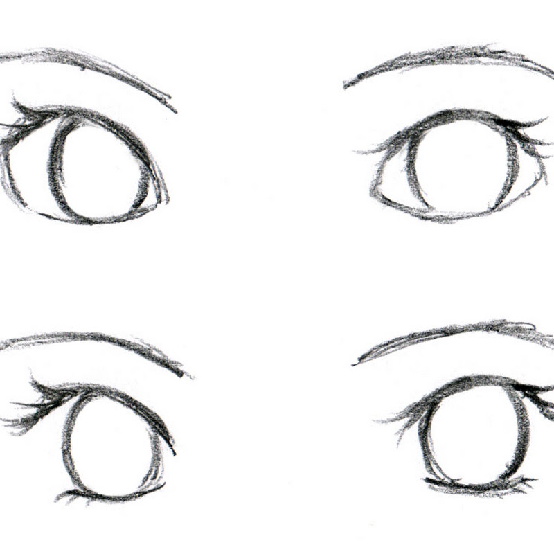 Gallery For > How To Draw A Eye Crying Step By Step