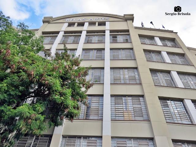 Perspectiva inferior da fachada do Belas Artes (Unidade 3) - Vila Mariana - São Paulo