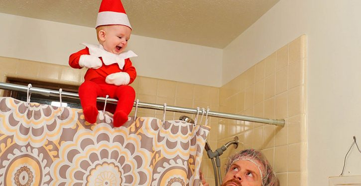 "A Dad Turns His Baby Into A Real ""Elf"", The Photos Are Magical"
