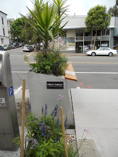Parklet in the Mission, San Francisco