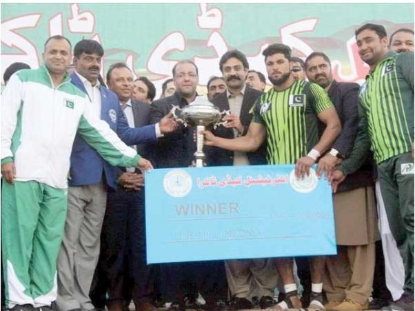 International Kabaddi series Pakistan Green won