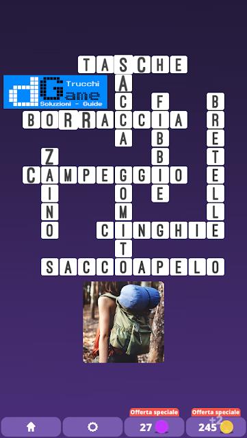 Soluzioni One Clue Crossword livello 21 schemi 9 (Cruciverba illustrato)  | Parole e foto