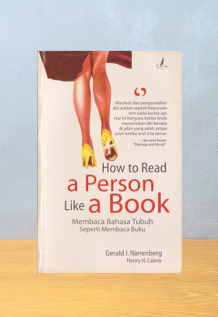 HOW TO READ A PERSON LIKE A BOOK, Gerald I. Nierenberg
