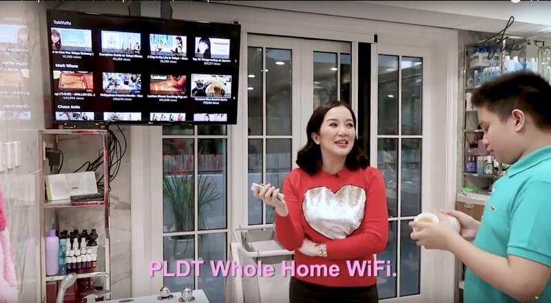PLDT Home Fibr Powers Kris Aquino's Home