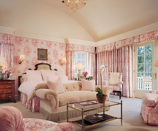 The Glam Pad: 35 Feminine Pink Bedrooms