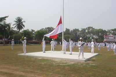 ASN Kemenag Tanjungbalai Hadiri Upacara HUT RI Ke-73