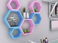 20+ Contoh Rak Dinding Minimalis Penghias Dinding