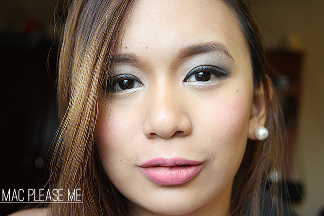 review mac please me lipstick the misty mom