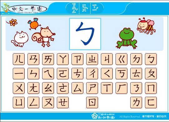 漢字 漢字3年 : 台灣注音符號的由來 @ Multiverse ...
