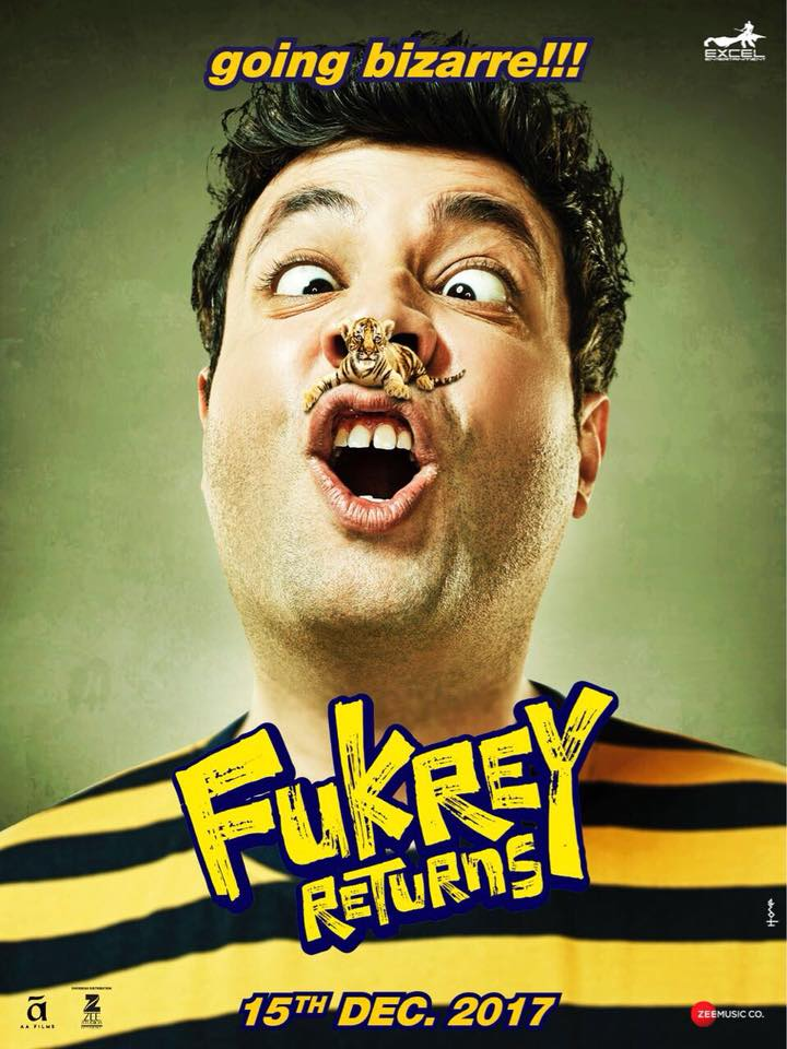 Fukrey Returns Official Poster