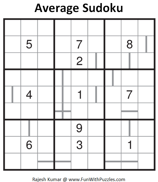 Average Sudoku (Daily Sudoku League #128)