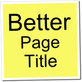 cara mudah membuat title post blogspot agar lebih SEO