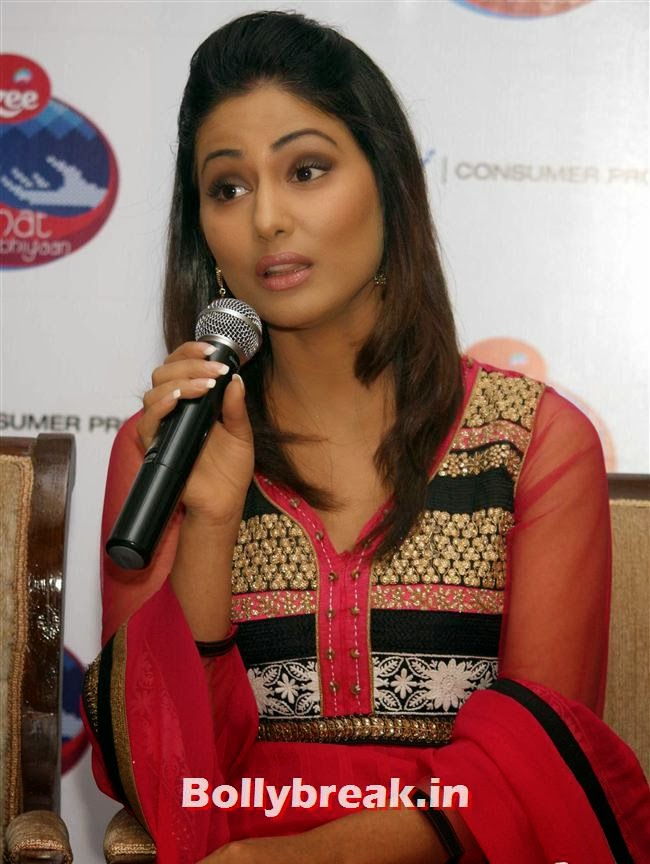 Hina Khan, Hina Khan at Raahat Ek Abhiyaan Initiative Event