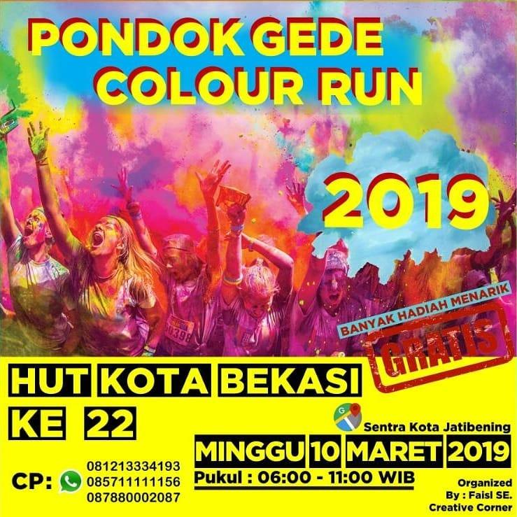 Pondok Gede Colour Run • 2019