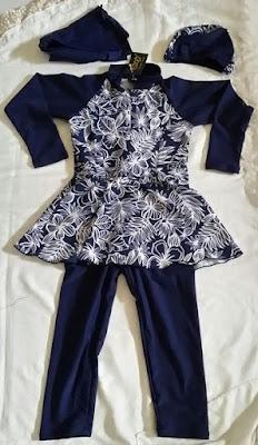 pakaian renang muslimah anak ukuran 4 tahun