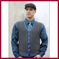 Chaleco elegante a crochet