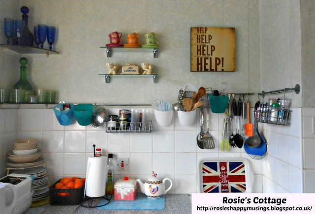 Kitchen Walls Nearest Cooker With Personal Decor Items To Make Us Smile