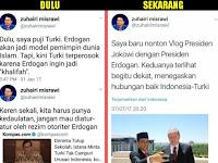 Dasar! Dulu Sebut Erdogan Otoriter, Kini Puja Puji Setelah Ngevlog dengan Jokowi