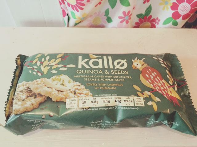 Kallo multigrain cakes