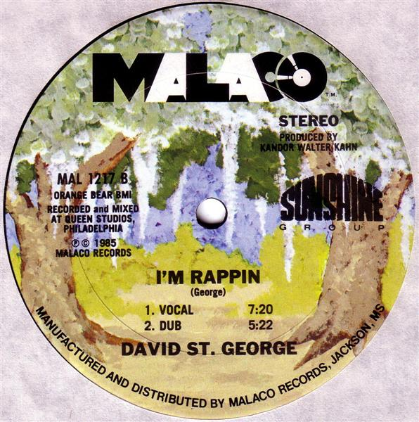 David St George Im Rappin Love Stimulation