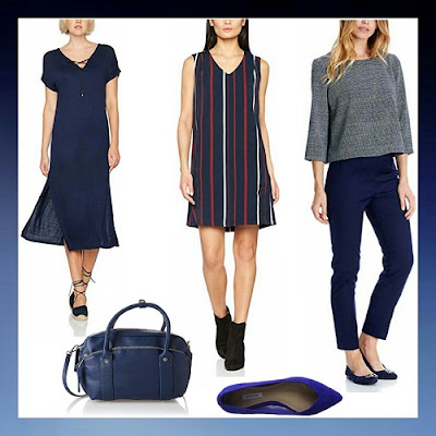 Prendas azul oscuro para mujeres stileo