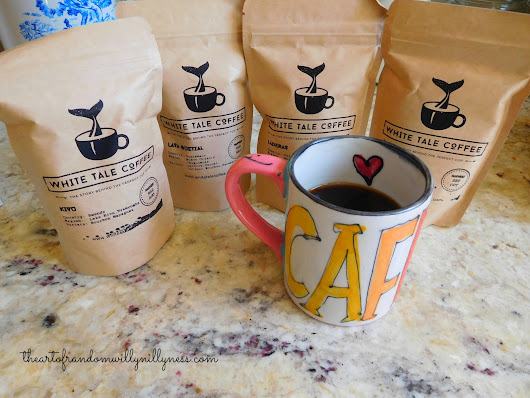 The Art of Random Willy-Nillyness: White Tale Coffee Subscription Box Review and Giveaway!