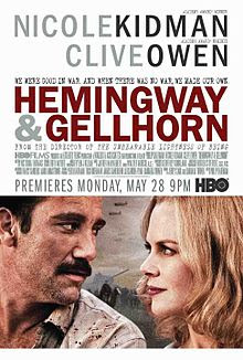 Poster Of Hemingway & Gellhorn In Dual Audio Hindi English 300MB Compressed Small Size Pc Movie Free Download Only At worldfree4u.com
