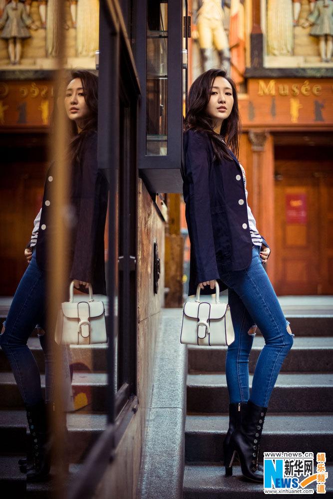 Street shots of Wang Ou
