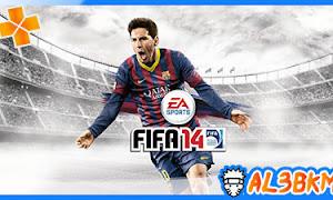 تحميل لعبة كرة القدم FIFA 14 psp لمحاكي ppsspp