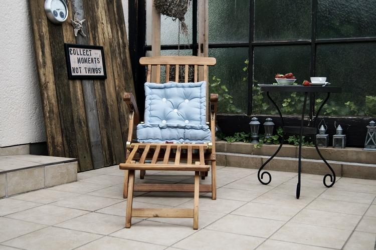 Deckchair und Terrassendeko { by it's me! }