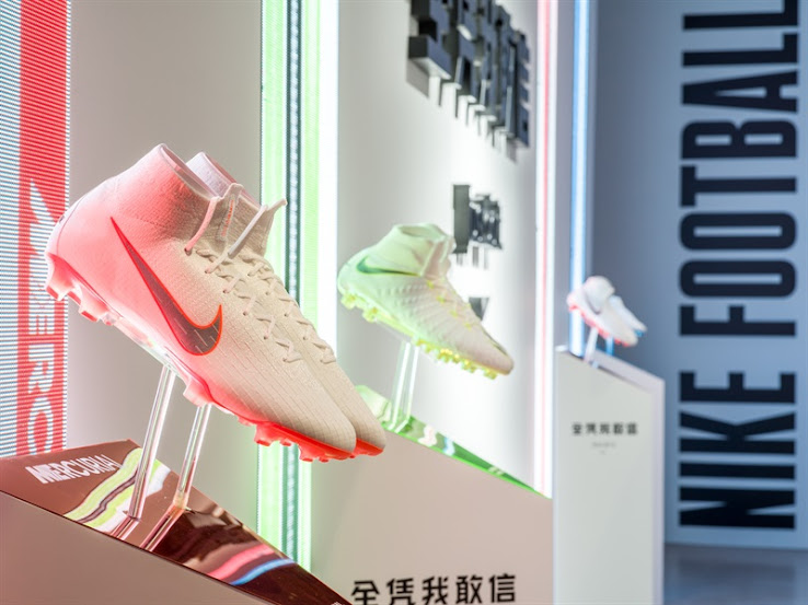 51680e0b271 Update  We have added a picture of the Nike  Just Do It  2018 World Cup  boot collection from a big Nike Football event that took place in China  today.