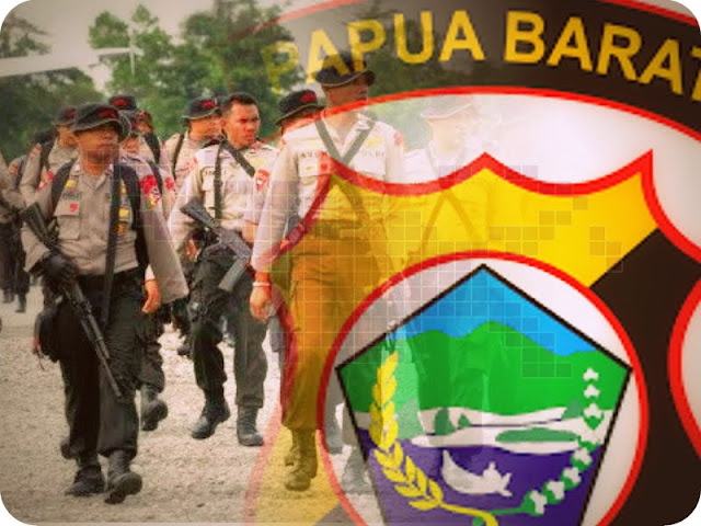 Martuani Sormin Berikan Penghargaan ke 38 Anggota Polisi di Sorong